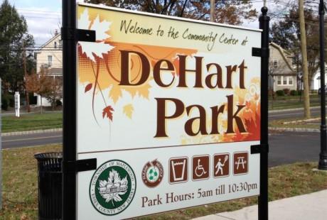 Custom Park Sign