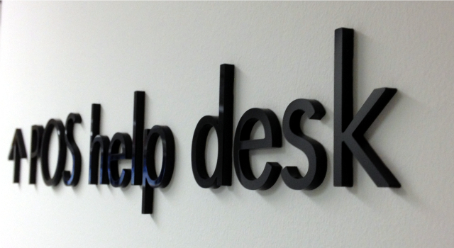 1/4 thick Acrylic letters