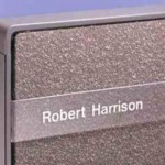 Cubical Name Plate for Steelcase 9000