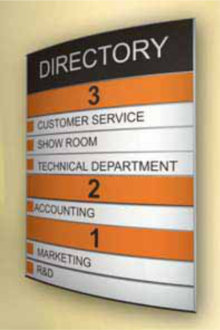 printable directory project sign architectural signageproject sign