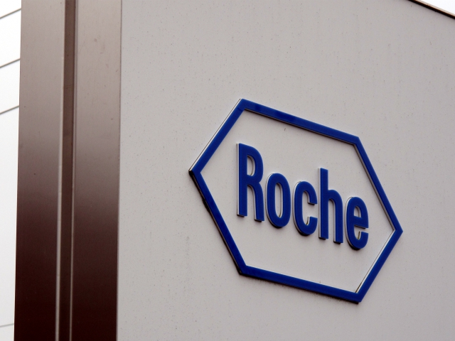 Roche Logo - Project Sign Architectural SignageProject ...