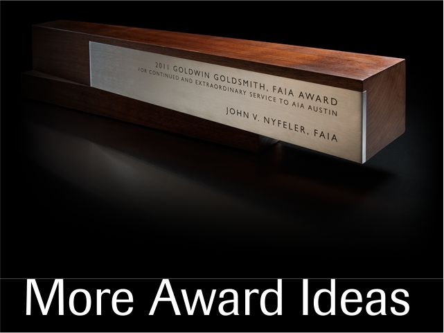 More Award Ideas
