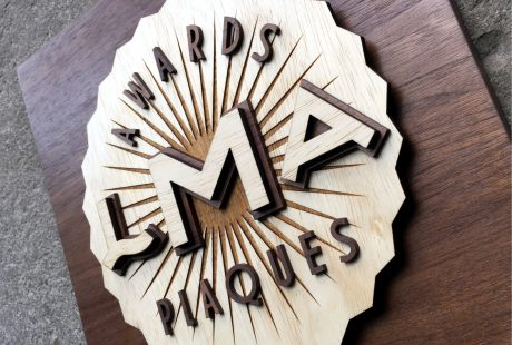 Wood Sign dimensional Laser cut NJ