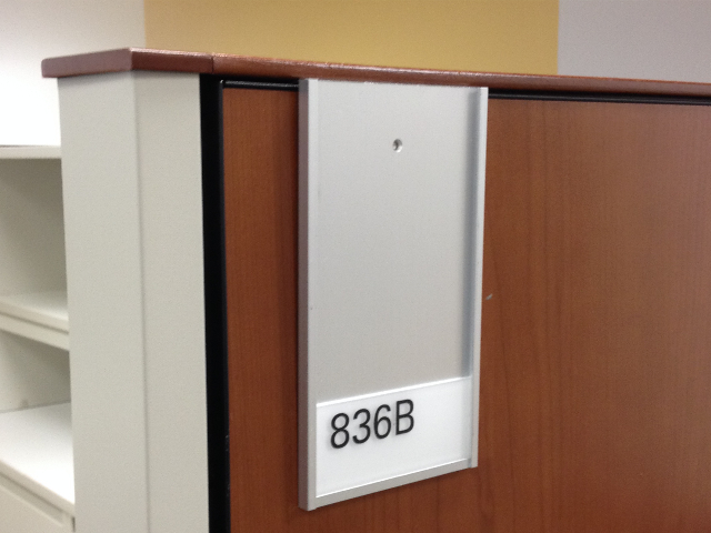 Attaches to Steel Case Cubical Wall Cost $36.00