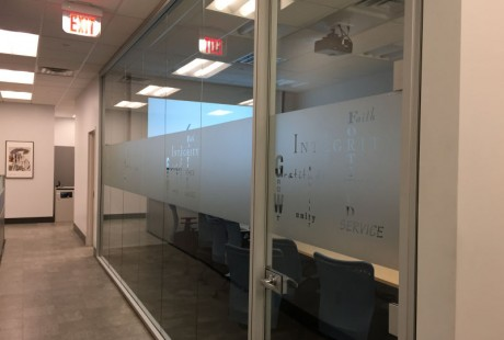 Privacy for corporate conference room