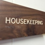 Custom Hotel Architectural Signage