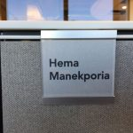 Name plate for Herman Miller workstation print your own nameplate