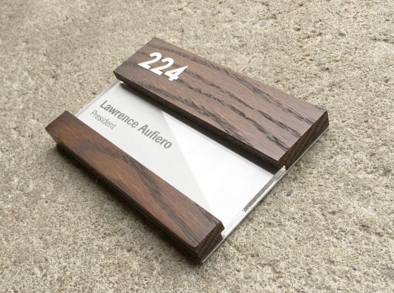 graphic about Printable Wood Paper named Picket Nameplate printable add stained within just conclusion of colour